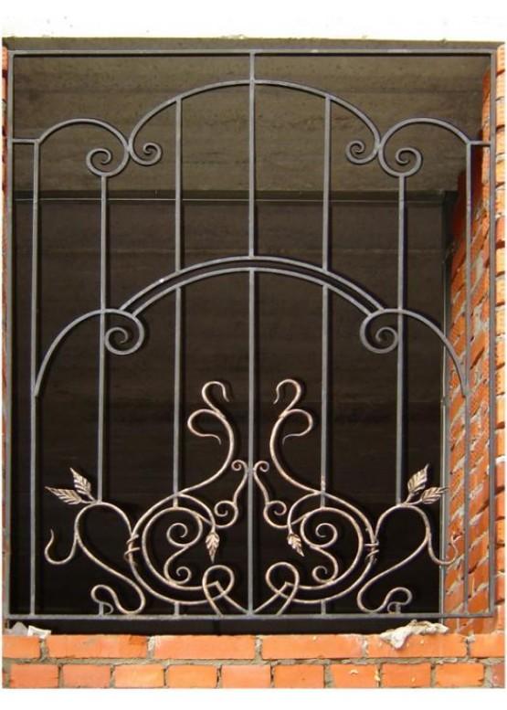 Купить Кованая решетка - Авторские работы (Артикул 1291)
