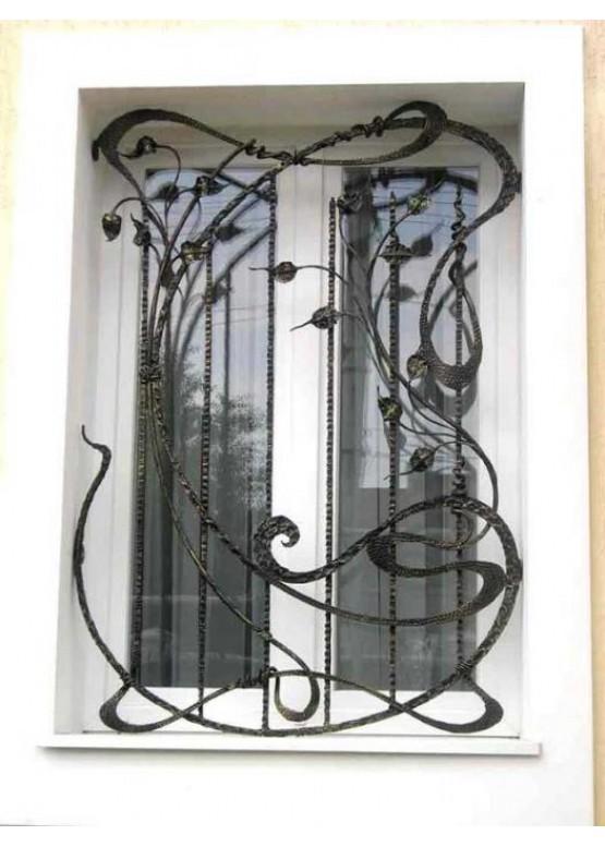 Купить Кованая решетка - Авторские работы (Артикул 1302)