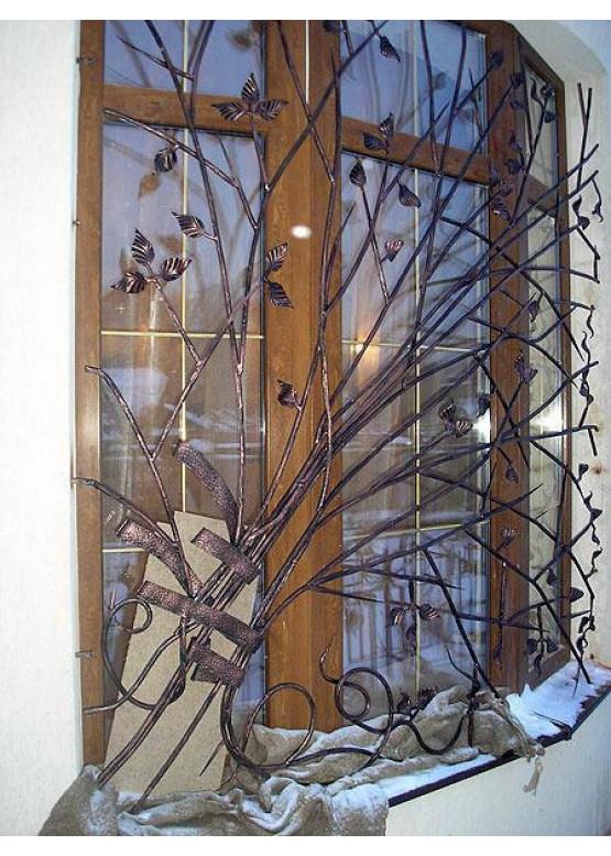 Купить Кованая решетка - Авторские работы (Артикул 1323)