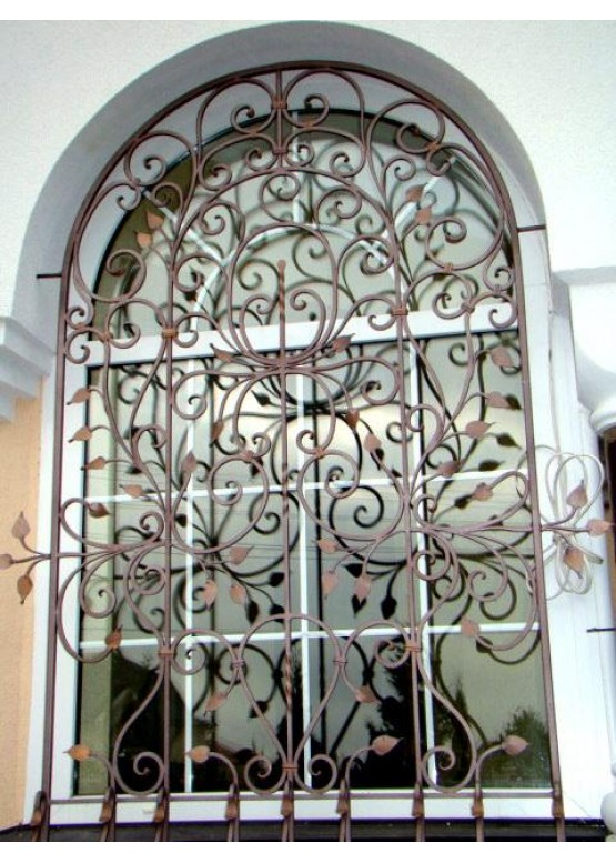 Купить Кованая решетка - Авторские работы (Артикул 1324)