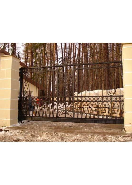 Купить Кованые ворота - Авторские работы (Артикул 1499)