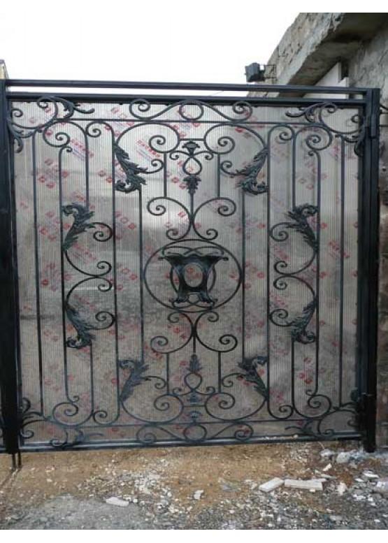 Купить Кованые ворота - Авторские работы (Артикул 1500)