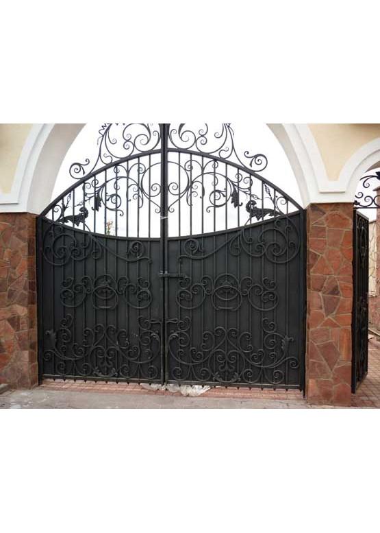 Купить Кованые ворота - Авторские работы (Артикул 1502)