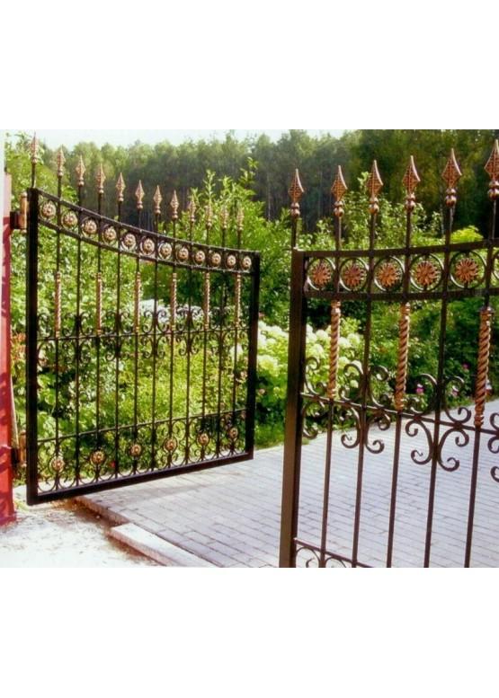 Купить Кованые ворота - Авторские работы (Артикул 1505)