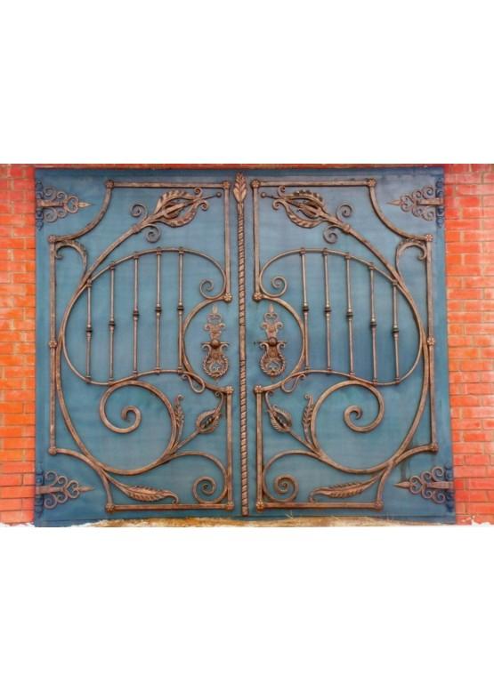 Купить Кованые ворота - Авторские работы (Артикул 1506)