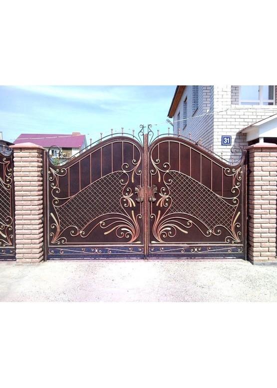 Купить Кованые ворота - Авторские работы (Артикул 1512)