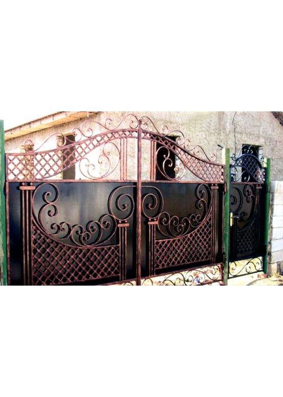 Купить Кованые ворота - Авторские работы (Артикул 1513)