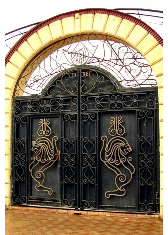 Купить Кованые ворота - Авторские работы (Артикул 1514)
