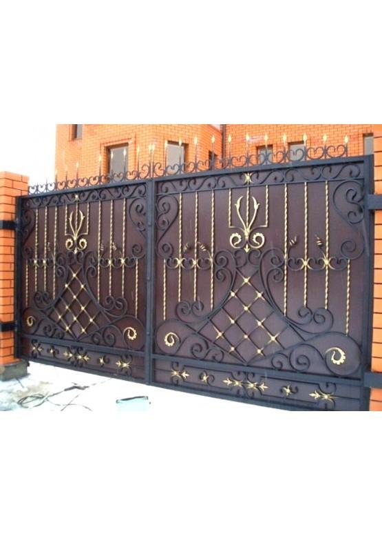 Купить Кованые ворота - Авторские работы (Артикул 1516)