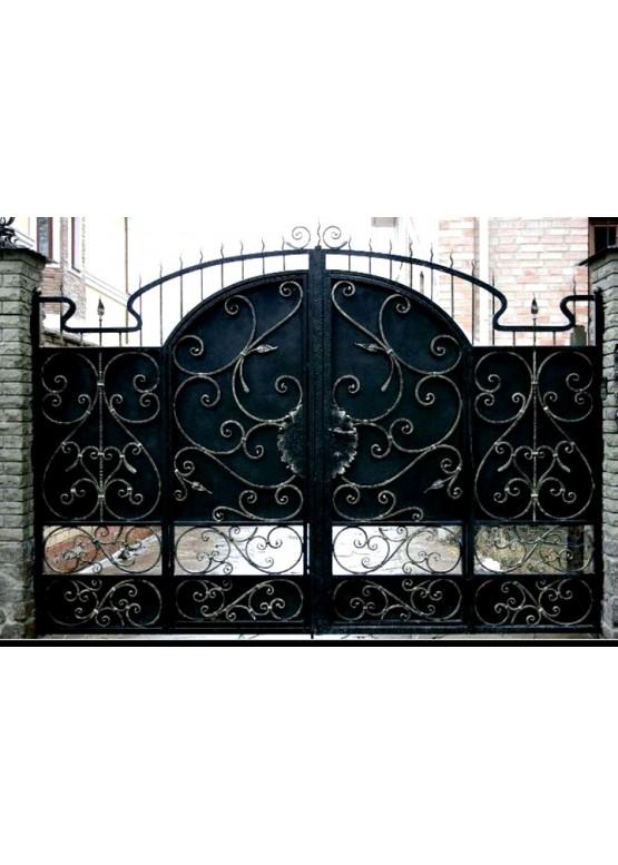 Купить Кованые ворота - Авторские работы (Артикул 1517)