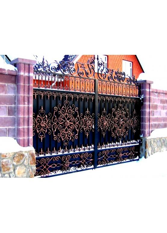Купить Кованые ворота - Авторские работы (Артикул 1518)