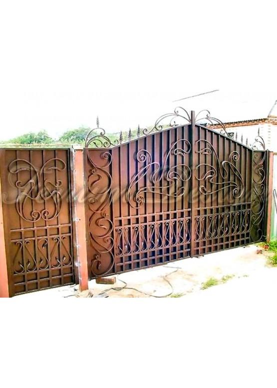 Купить Кованые ворота - Авторские работы (Артикул 1519)
