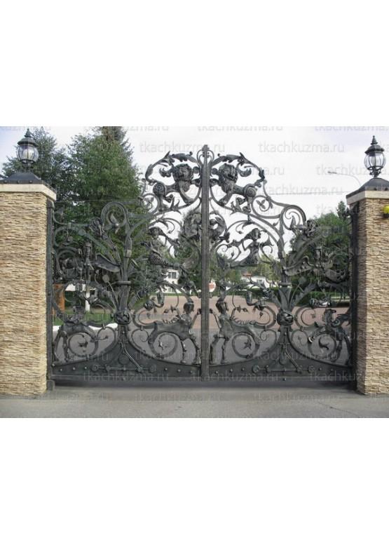 Купить Кованые ворота - Авторские работы (Артикул 1532)