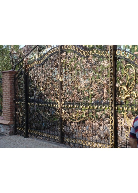 Купить Кованые ворота - Авторские работы (Артикул 1533)