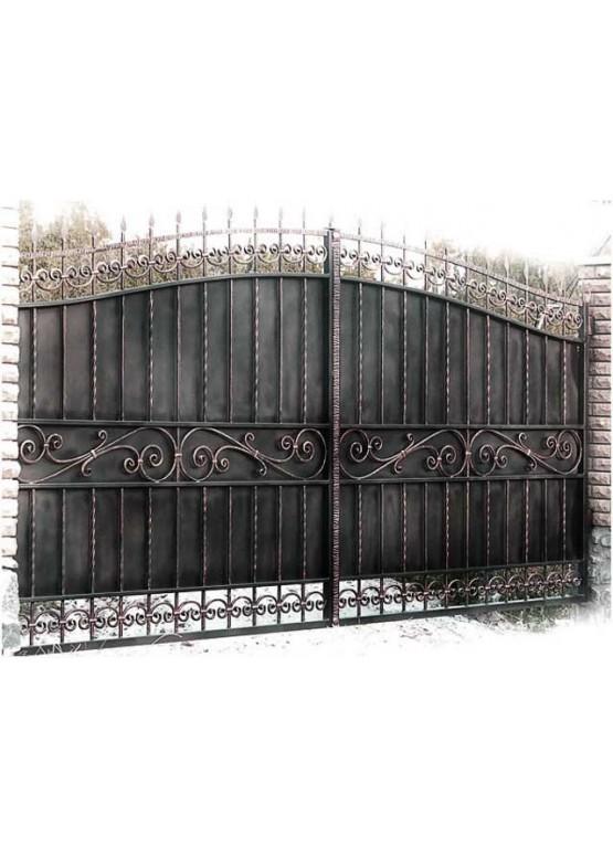 Купить Кованые ворота - Авторские работы (Артикул 1534)