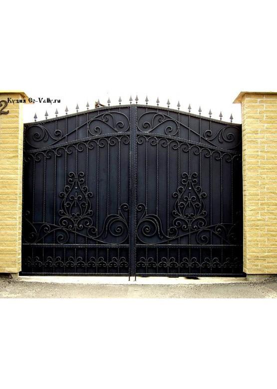 Купить Кованые ворота - Авторские работы (Артикул 1535)