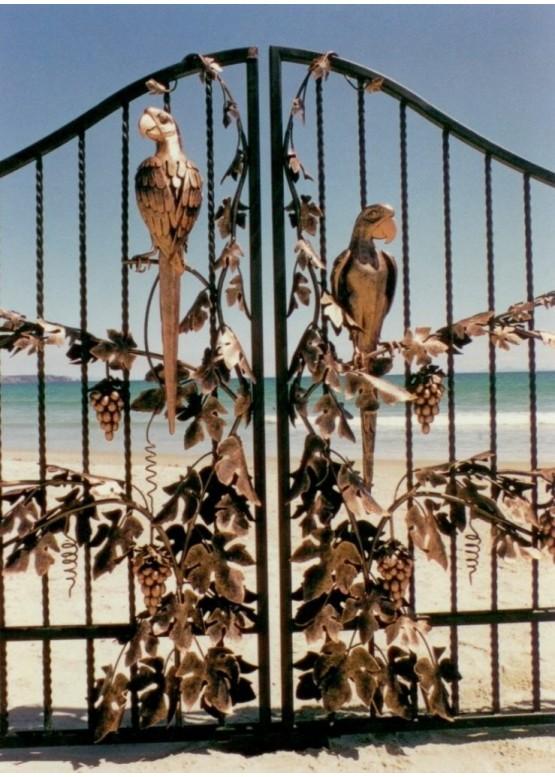 Купить Кованые ворота - Авторские работы (Артикул 1539)