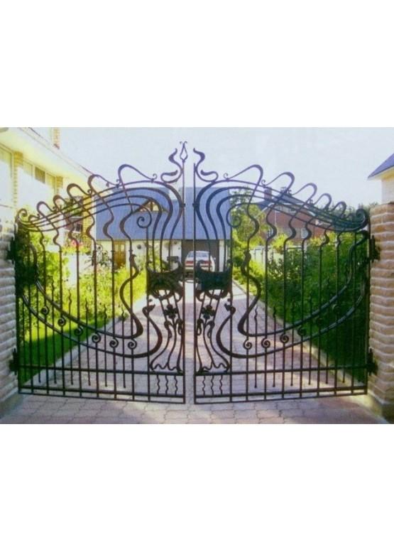 Купить Кованые ворота - Авторские работы (Артикул 1542)