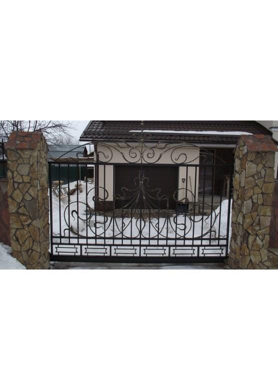 Купить Кованые ворота - Авторские работы (Артикул 1545)