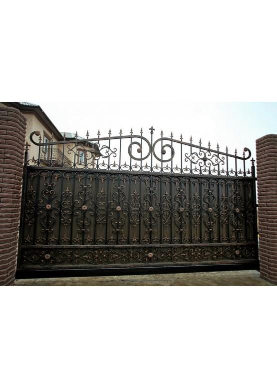 Купить Кованые ворота - Авторские работы (Артикул 1550)