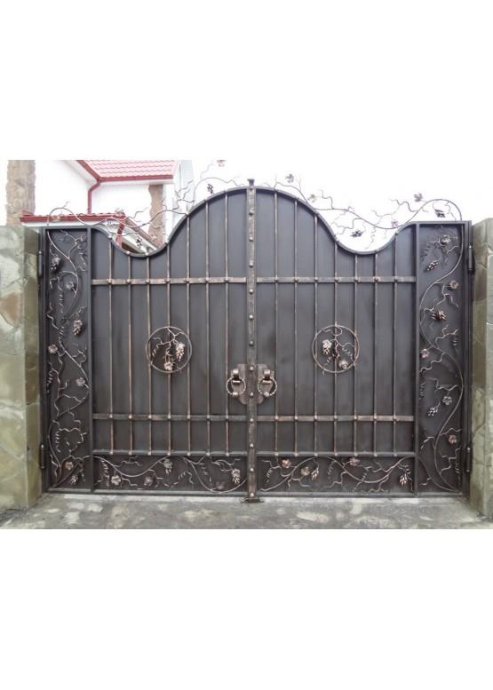 Купить Кованые ворота - Авторские работы (Артикул 1556)