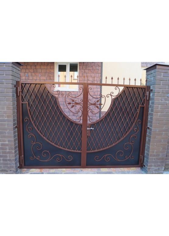 Купить Кованые ворота - Авторские работы (Артикул 1559)