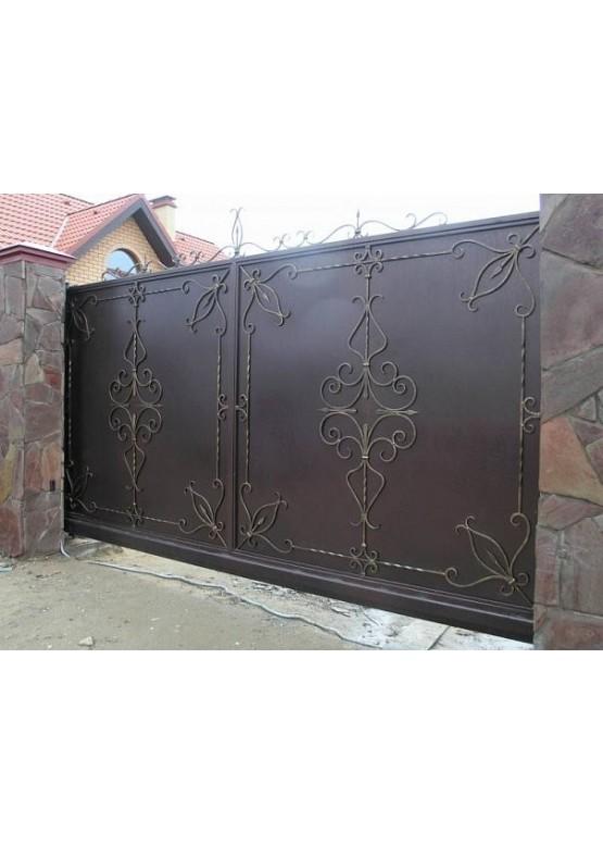 Купить Кованые ворота - Авторские работы (Артикул 1561)