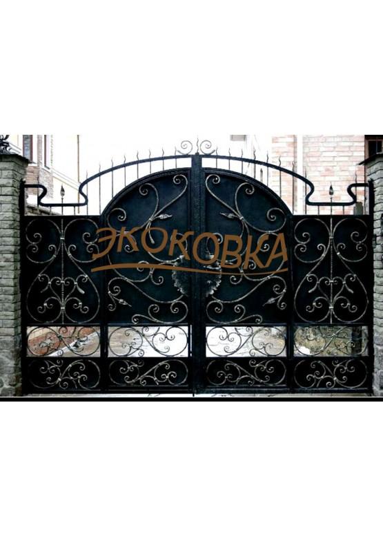 Купить Кованые ворота - Авторские работы (Артикул 1576)