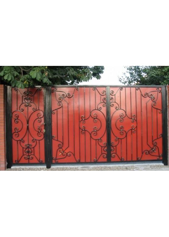 Купить Кованые ворота - Авторские работы (Артикул 1580)