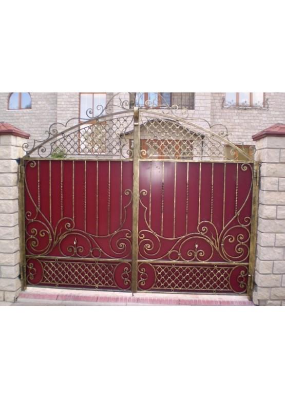 Купить Кованые ворота - Авторские работы (Артикул 1581)