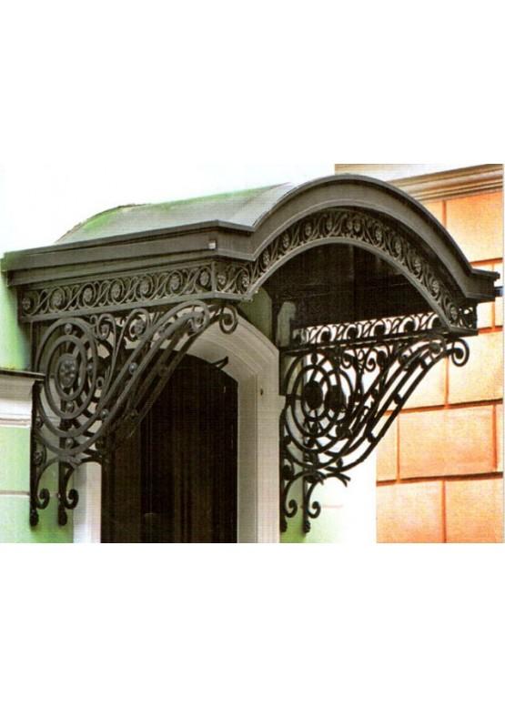 Купить Козырек кованый - Авторские работы (Артикул 1327)