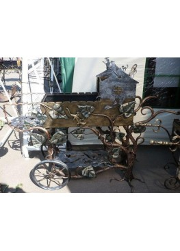 Кованный мангал