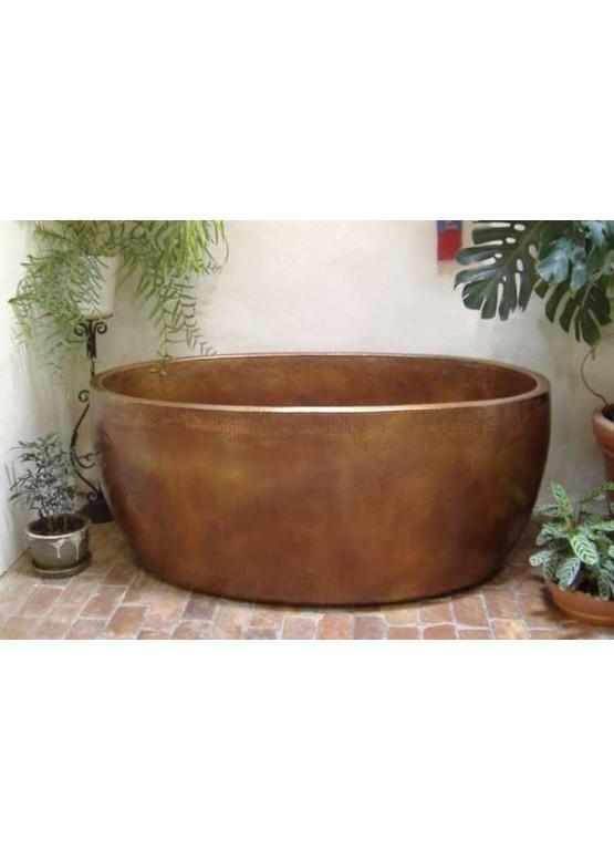 Купить Медная ванна круглая - Авторские работы (Артикул 97)