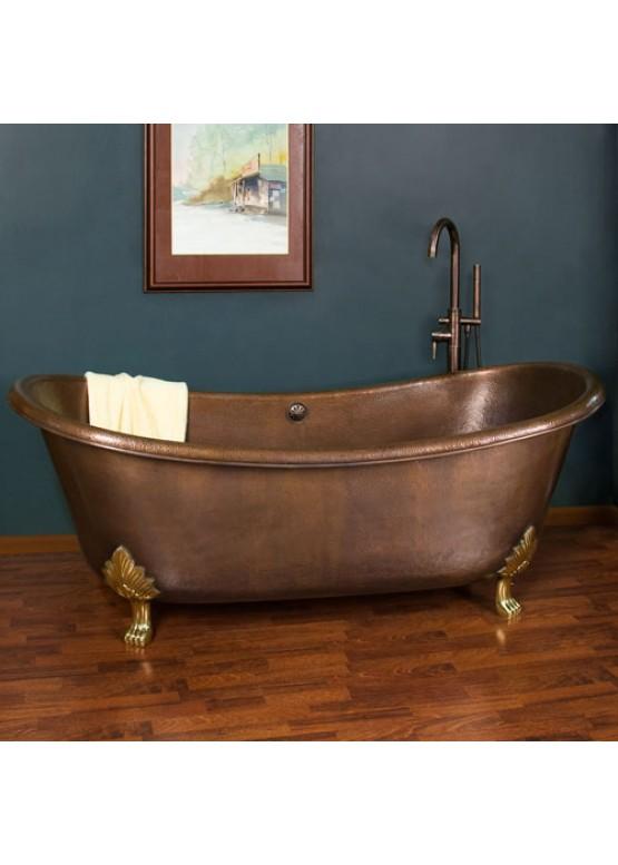 Купить Медная ванна овальная - Авторские работы (Артикул 76)