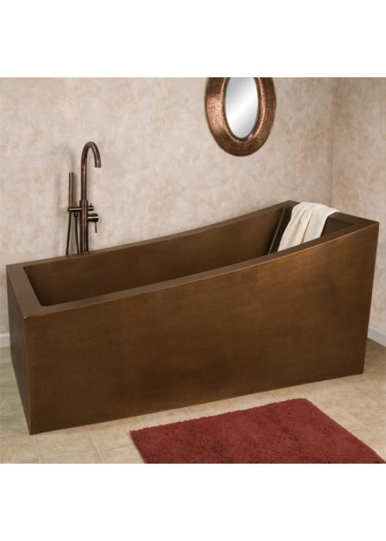 Купить Медная ванна квадратная - Авторские работы (Артикул 86)