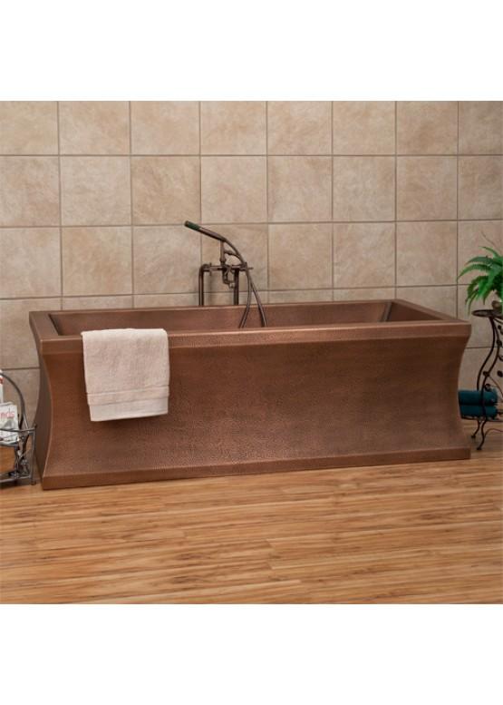 Купить Медная ванна квадратная - Авторские работы (Артикул 88)