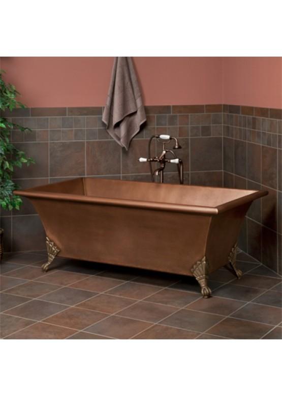 Купить Медная ванна квадратная - Авторские работы (Артикул 92)