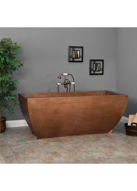 Купить Медная ванна квадратная - Авторские работы (Артикул 93)