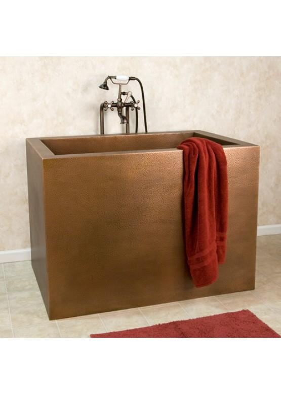 Купить Медная ванна квадратная - Авторские работы (Артикул 95)