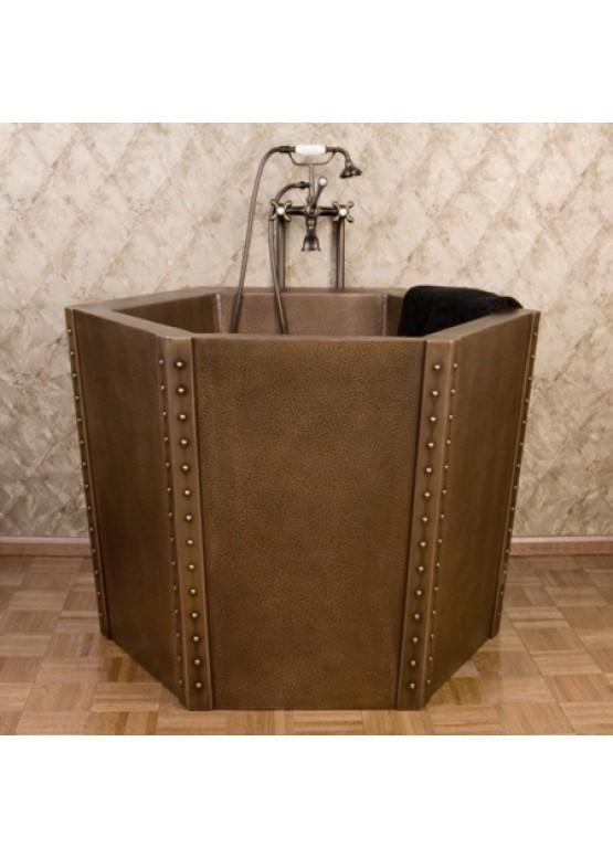 Купить Медная ванна квадратная - Авторские работы (Артикул 96)