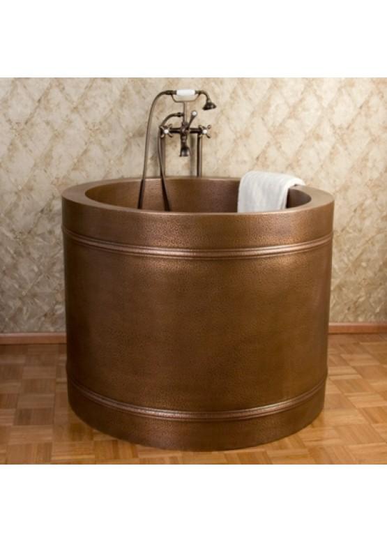 Купить Медная ванна круглая - Авторские работы (Артикул 98)
