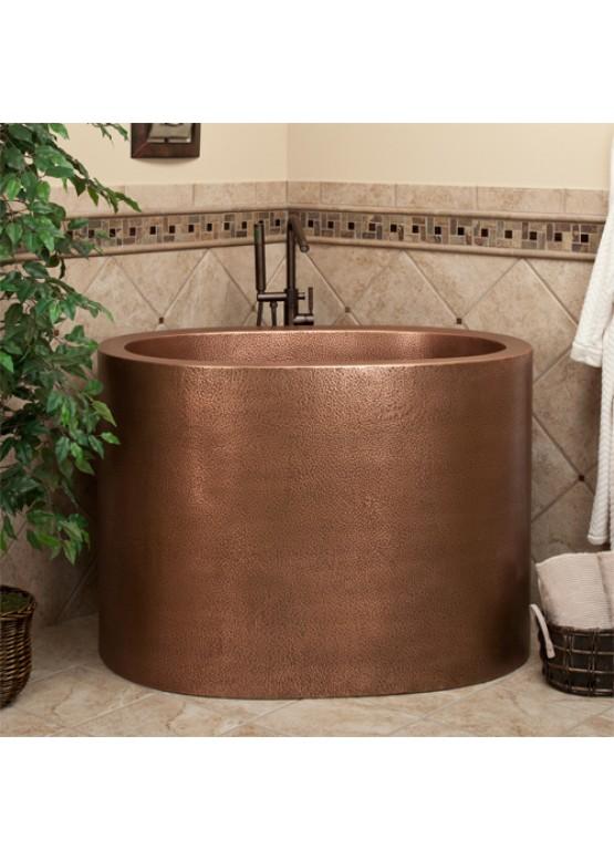 Купить Медная ванна круглая - Авторские работы (Артикул 99)