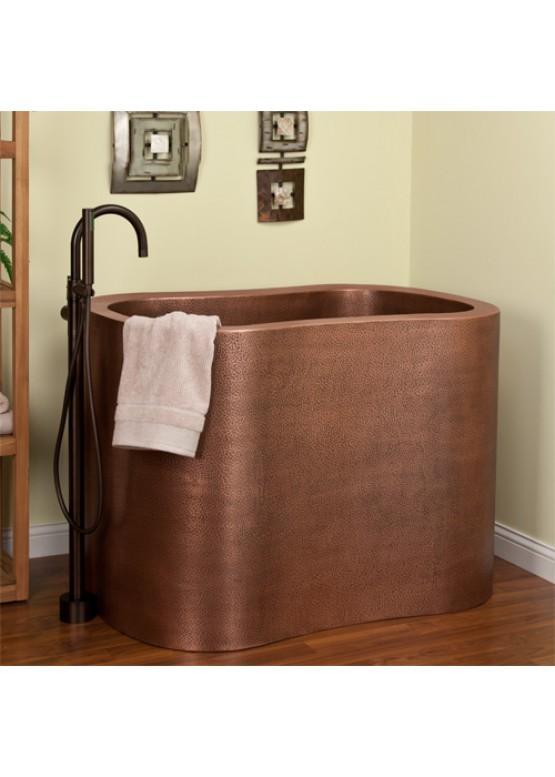 Купить Медная ванна круглая - Авторские работы (Артикул 100)