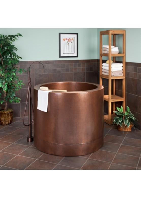 Купить Медная ванна круглая - Авторские работы (Артикул 101)