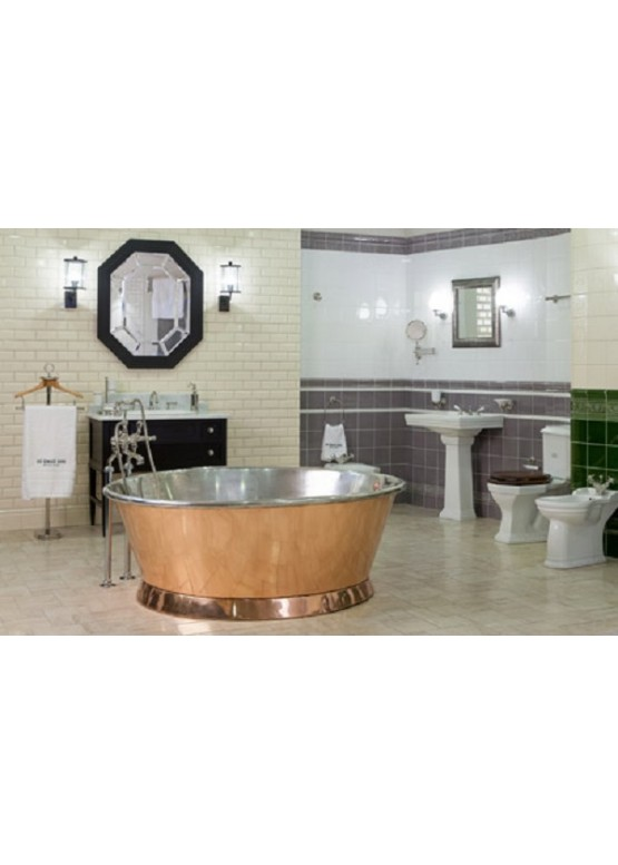 Купить Медная ванна круглая - Авторские работы (Артикул 105)