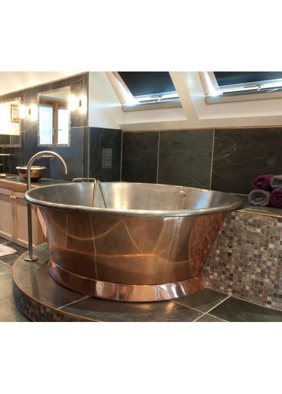 Купить Медная ванна круглая - Авторские работы (Артикул 107)