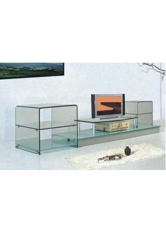 Купить Стеклянная подставка под ТВ и аппаратуру - Авторские работы (Артикул 1719)