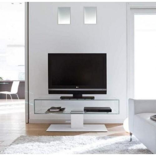 Подставки под ТВ и аппаратуру из стекла