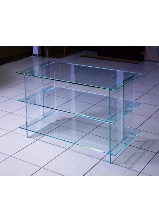 Купить Стеклянная подставка под ТВ и аппаратуру - Авторские работы (Артикул 1715)