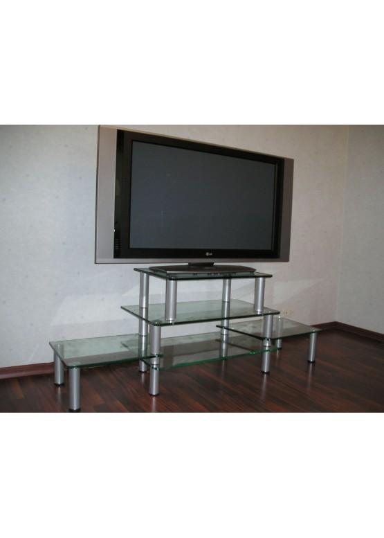 Купить Стеклянная подставка под ТВ и аппаратуру - Авторские работы (Артикул 1705)